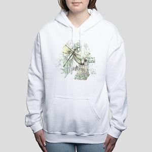 Je Taime' Women's Hooded Sweatshirt