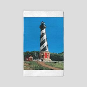 Cape Hatteras Lighthouse Area Rug