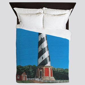 Cape Hatteras Lighthouse Queen Duvet