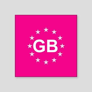 sticker gb pink 10 Sticker
