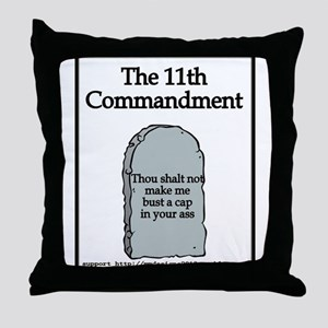 the 11th Throw Pillow