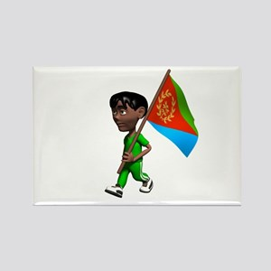 Eritrea Boy Rectangle Magnet