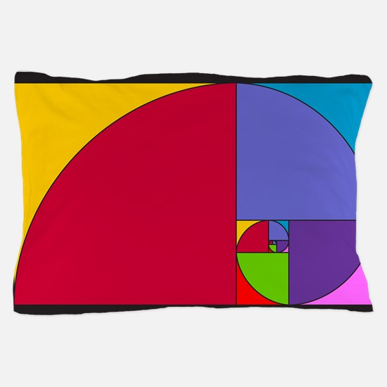 Pop Art Fibonacci Pillow Case