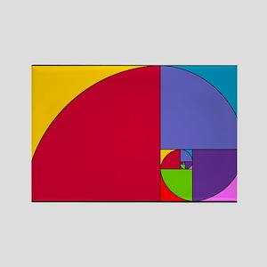Pop Art Fibonacci Magnets