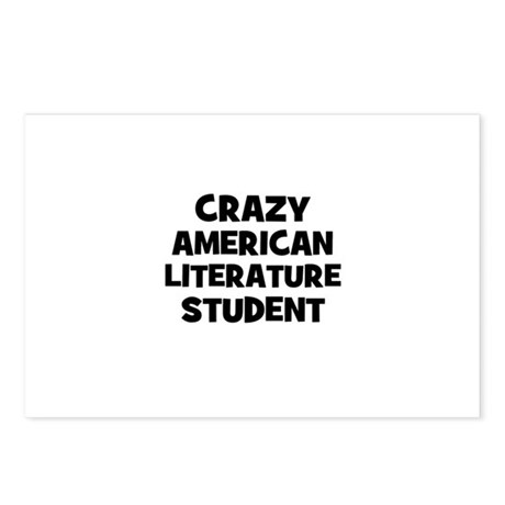 Crazy American Literature Stu Postcards (Package o