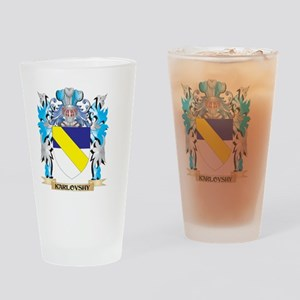 Karlovshy Coat of Arms - Family Cre Drinking Glass