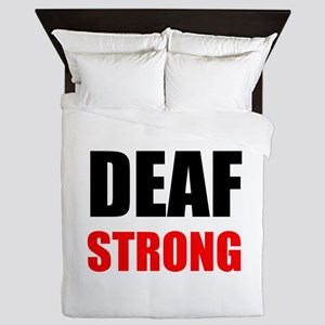 Deaf Strong Queen Duvet