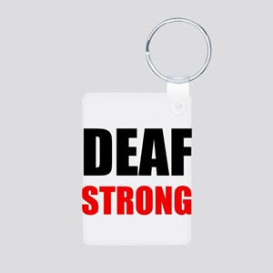 Deaf Strong Keychains