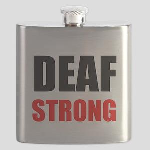 Deaf Strong Flask