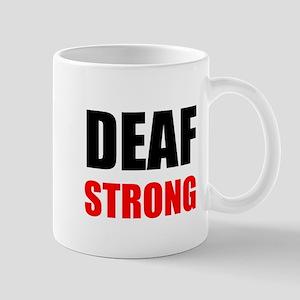 Deaf Strong Mugs