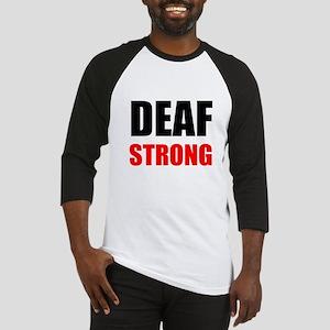 Deaf Strong Baseball Jersey