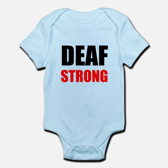 Deaf Strong Body Suit