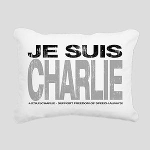 Je Suis Charlie Rectangular Canvas Pillow