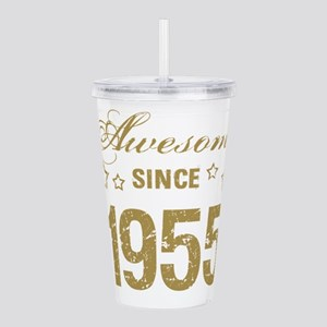 Awesome Since 1955 Acrylic Double-wall Tumbler