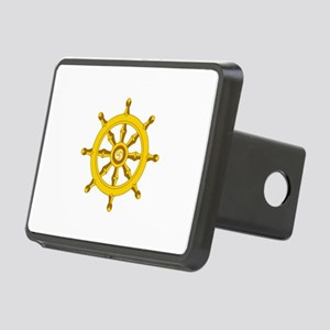 DHARMA BUDDHISM WHEEL Hitch Cover