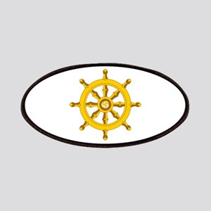 DHARMA BUDDHISM WHEEL Patches
