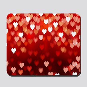 1,2,3,4,5.....hearts Mousepad