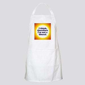 Not a Liberal! Apron