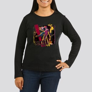 Elektra Graphic Women's Long Sleeve Dark T-Shirt