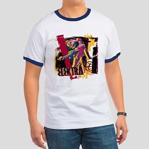 Elektra Graphic Ringer T