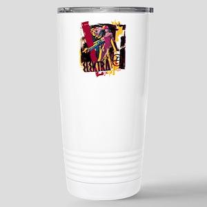 Elektra Graphic Stainless Steel Travel Mug