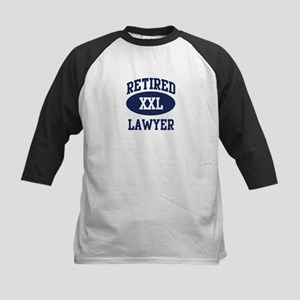 Retired Lawyer Kids Baseball Jersey