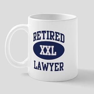 Retired Lawyer Mug