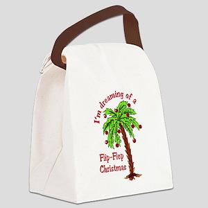 FLIP FLOP CHRISTMAS Canvas Lunch Bag