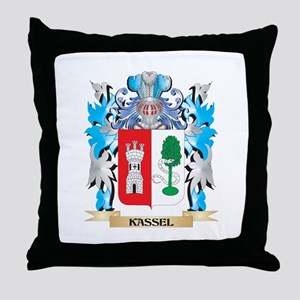 Kassel Coat of Arms - Family Crest Throw Pillow