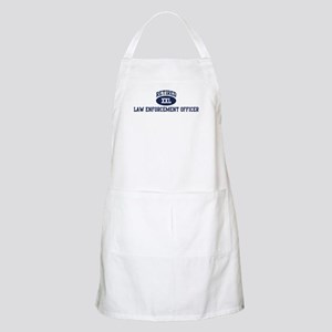 Retired Law Enforcement Offic BBQ Apron