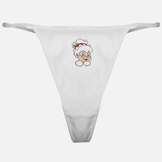 MRS CLAUS Classic Thong