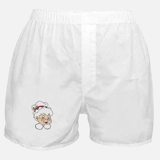 MRS CLAUS Boxer Shorts