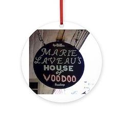 Voodoo Round Ornament