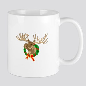 CHRISTMAS MOOSE Mugs