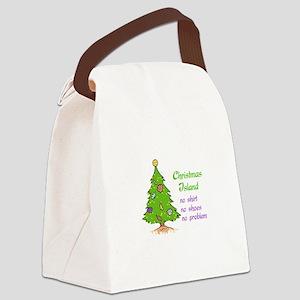 CHRISTMAS TREE ISLAND Canvas Lunch Bag
