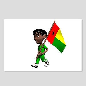 Guinea-Bissau Boy Postcards (Package of 8)