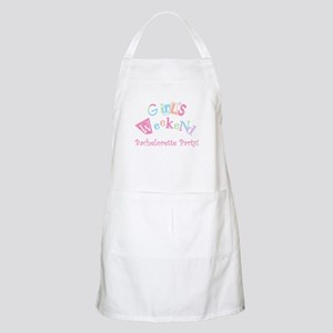 Girl's Weekend BBQ Apron
