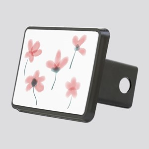 Soft Flower Rectangular Hitch Cover