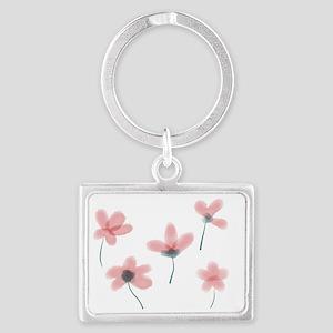 Soft Flower Landscape Keychain