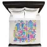 Peace In The City King Duvet