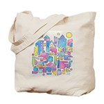 Peace in the City Tote Bag