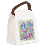 Peace in the City Canvas Lunch Bag