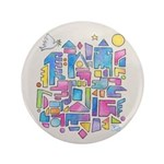 Peace In The City Button