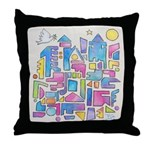 Peace in the City Throw Pillow