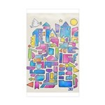 Peace In The City Sticker (rectangle 10 Pk)