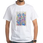 Peace in the City White T-Shirt