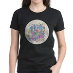 Peace in the City Women's Dark T-Shirt