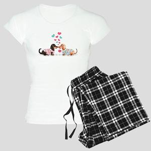 Doxie Valentine Pajamas