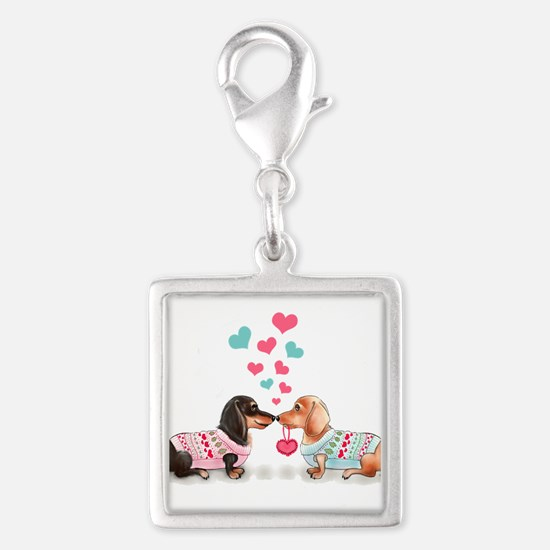 Doxie Valentine Charms
