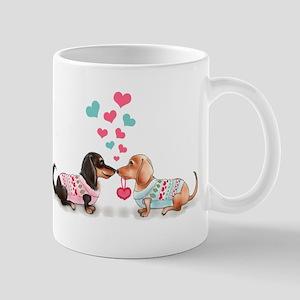 Doxie Valentine Mugs